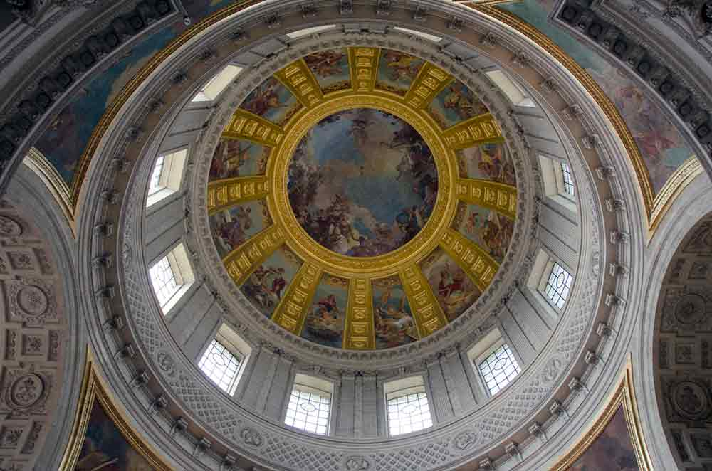 invalides ceiling-AsiaPhotoStock