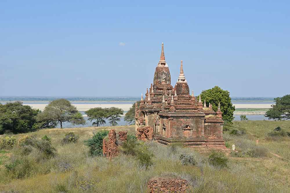 river view historical bagan-AsiaPhotoStock
