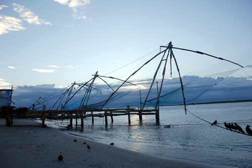 fishing nets-asia photo stock