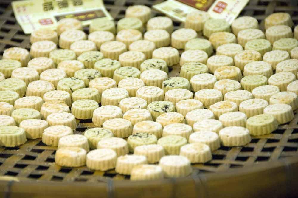 Almond Cookies Macau Almond Cookies-asiaphotostock