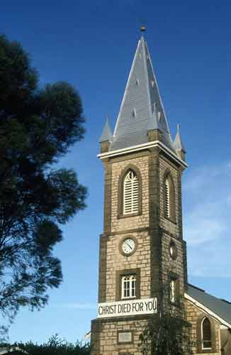 Barossa church-asia photo stock