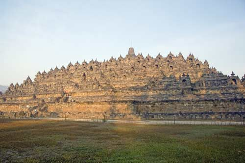 borobudur in morning-AsiaPhotoStock