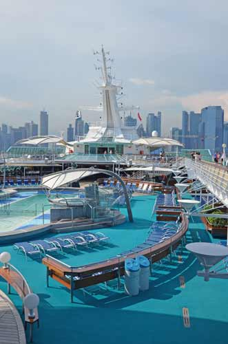 marina bay cruise-asia photo stock