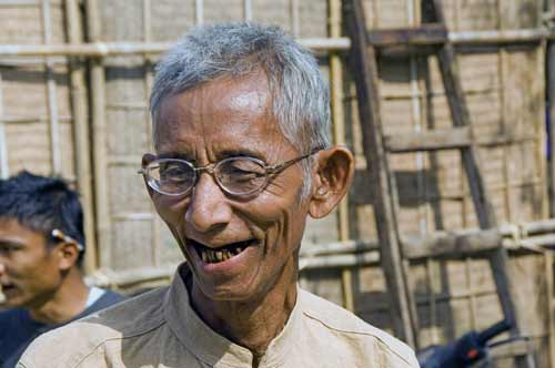 elderly burmese man-AsiaPhotoStock