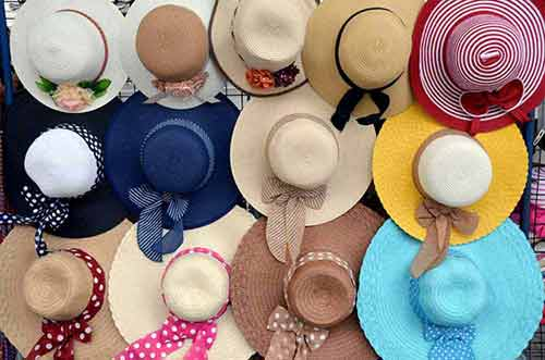 hat choices-AsiaPhotoStock