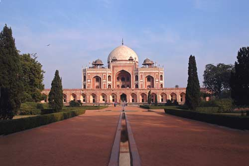 humayun tomb-asia photo stock