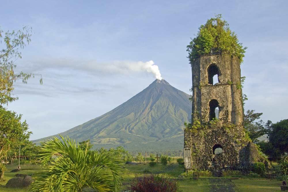 Asiaphotostock Mayon And Cagsawa