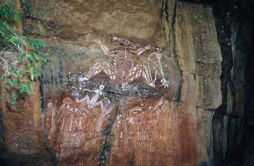 rock art-asia photo stock