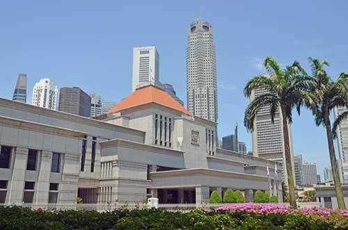 singapore parliament-asia photo stock
