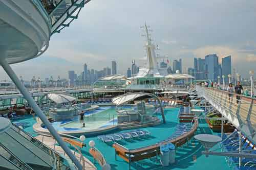 singapore cruise port-asia photo stock