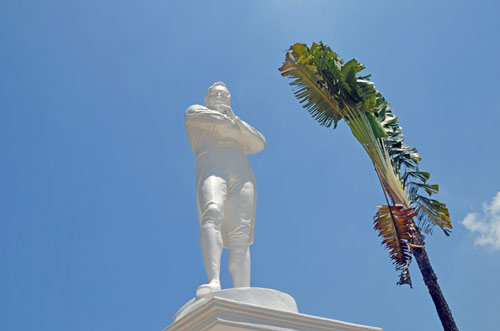 sir stamford raffles-asia photo stock