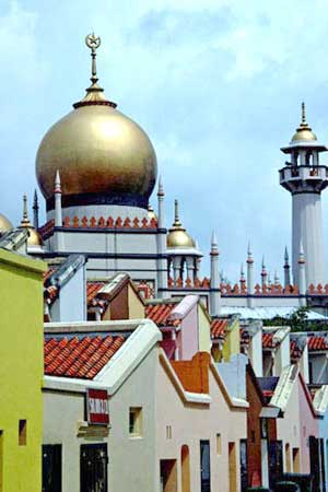 Sultan Mosque Singapore Picture on Sultan Mosque Singapore