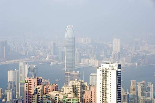 the peak hong kong-asia photo stock