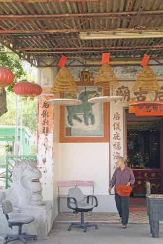 tin hau temple lamma-asia photo stock