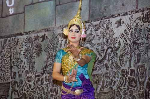 traditional dancer-asia photo stock
