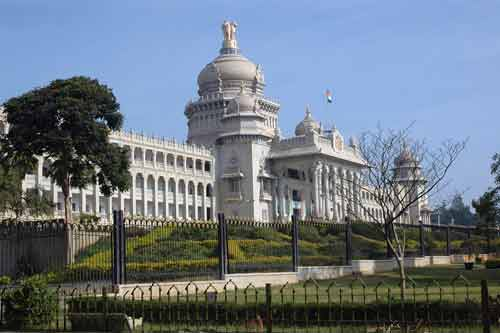 vidhana soudha-asia photo stock